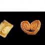 Pastes de full fetes amb 100% mantega de primera qualitat, amb fruites , cabell d'angel i pinyons, ulleretes i llasssos, etc...