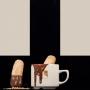 Xocolata a la tassa feta a partir de xocolata pura i amb llet fresca. Un plaer per els més